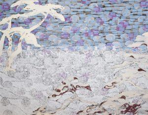 2015 雪原 1167mm × 910mm(第41 回記念春期創画展(東京)入選)